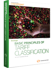 Basic Principles of Tariff Classification