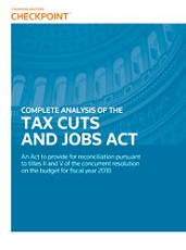 Complete Analysis of the Tax Cuts and Jobs Act