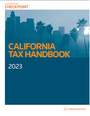 RIA California Tax Handbook