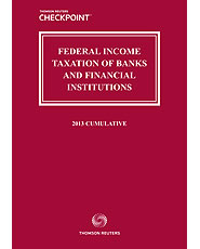 Federal Income Taxation of Banks and Financial Institutions