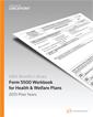 EBIA Form 5500 Workbook for Health & Welfare Plans 2015