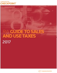 RIA Guide to Sales and Use Taxes
