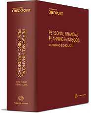 Personal Financial Planning Handbook with Forms and Checklists