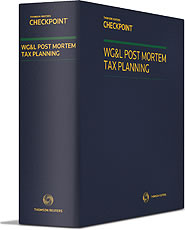 Post Mortem Tax Planning