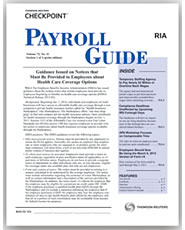 Payroll Guide Newsletter