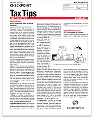 Quickfinder Tax Tips Newsletter