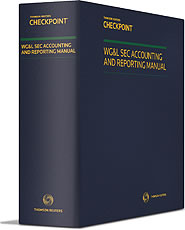 SEC Accounting and Reporting Manual