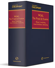 Tax Fraud and Evasion: Money Laundering, Asset Forfeiture, Sentencing