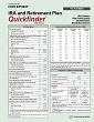 IRA and Retirement Plan Quickfinder Handbook