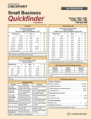 Small Business Quickfinder Handbook