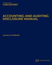 Accounting and Auditing Disclosure Manual