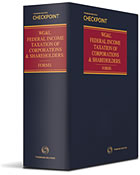 Federal Income Taxation of Corporations and Shareholders: Forms