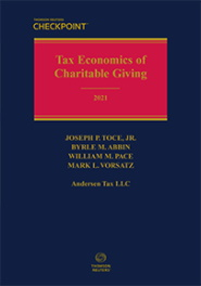 Tax Economics of Charitable Giving (2021 Edition)