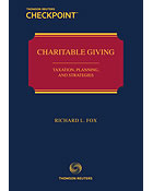 Charitable Giving: Taxation, Planning, and Strategies