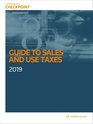 RIA Guide to Sales and Use Taxes Cover