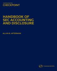 Handbook of SEC Accounting and Disclosure