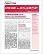 Internal Auditing Report