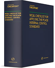 Checklist For Applying The PCAOB Internal Control Standard