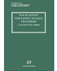 Tax Planning for Family Wealth Transfers During Life: Analysis With Forms