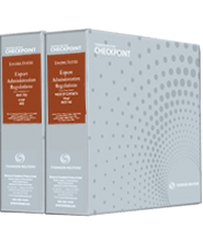 Binders for the Export Administration Regulations (EAR) (Set of 2)
