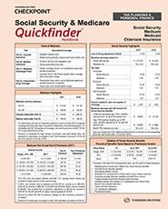 Social Security and Medicare Quickfinder Handbook