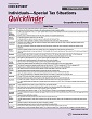 Individuals - Special Tax Situations Quickfinder Handbook